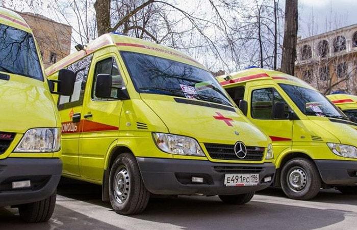 Новые машины скорой помощи в Е-бурге