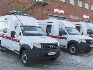 Автомобили скорой помощи в Омске
