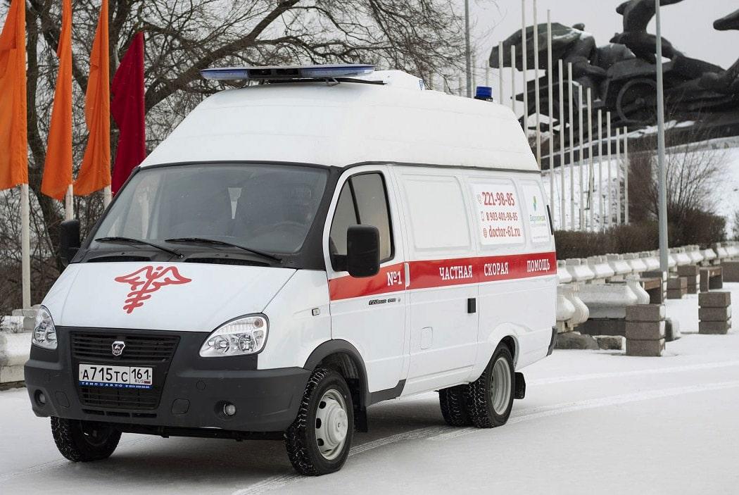 Карета скорой помощи ООО МСК Меридиан