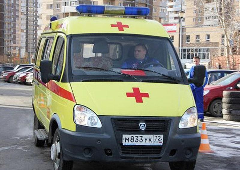 Карета скорой помощи в Тюмени